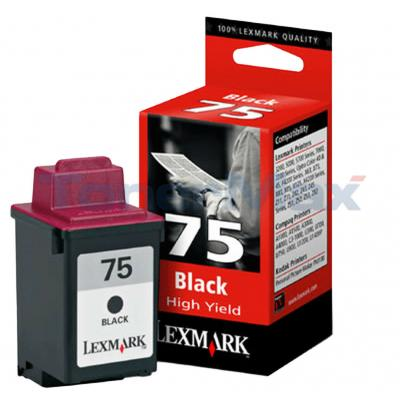 LEXMARK 3200 NO 75 PRINT CARTRIDGE BLACK